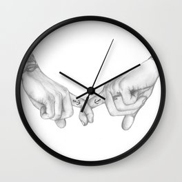 I'll make this feel like home (Harry Styles and Louis Tomlinson) Wall Clock