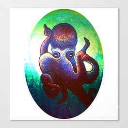 """HectaaA""Alien earth-like creature Canvas Print"