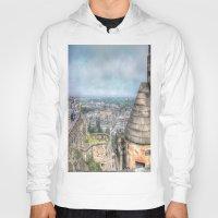 edinburgh Hoodies featuring Edinburgh Castle by Christine Workman