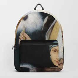 Jules Lefebvre - The Feathered Fan Backpack