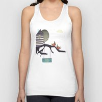 home sweet home Tank Tops featuring home sweet home by bri.buckley