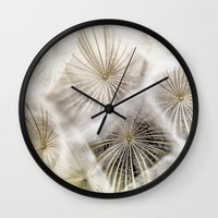 biology Wall Clocks featuring Into the deep by UtArt