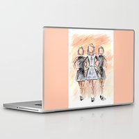 irish Laptop & iPad Skins featuring Irish Dancers by Tina Mooney