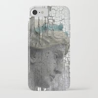 grace iPhone & iPod Cases featuring Grace by The Strange Days Of Gothicrow