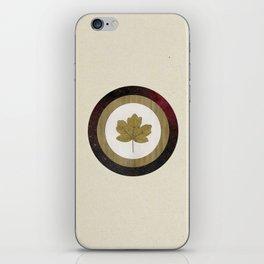 Leaf Space iPhone Skin