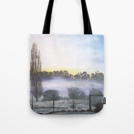 Childhood Mornings Tote Bag