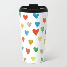 some more hearts Travel Mug