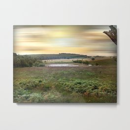The Mendips Metal Print