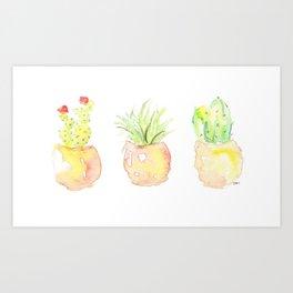 cactus ll Art Print