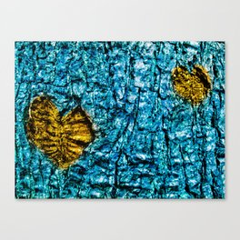 Underwater Wood 3 Canvas Print