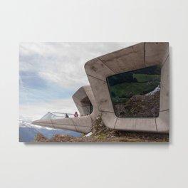 Messner Mountain Museum Corones  | Zaha Hadid Architects Metal Print