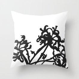 indian ink Throw Pillow