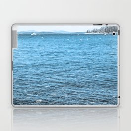 The Deep Blue - Acadia Maine Laptop & iPad Skin