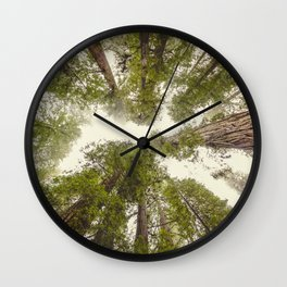 Into the Mist - Nature Photography Wall Clock