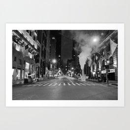 5th Ave Noir Part 3 Art Print