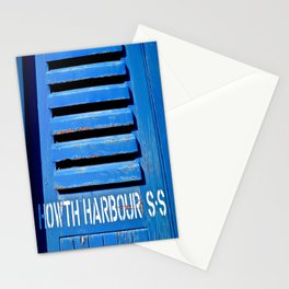 Howth Harbour Shutter Stationery Cards