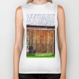 Open Barn Door Biker Tank
