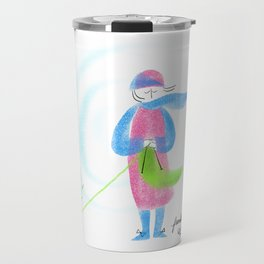 Spring Knitter Travel Mug