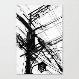 Telephone Poll 2 Canvas Print