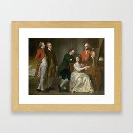 George Romney 1734–1802   The Beaumont Family Framed Art Print
