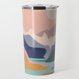 River Canyon Kayaking Travel Mug