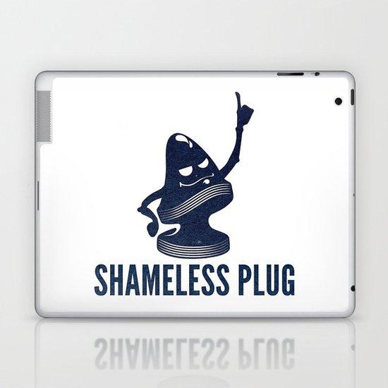 Shameless Plug Laptop & iPad Skin