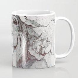 The Withering Spring I : Ice   nude tattoo woman portrait Coffee Mug