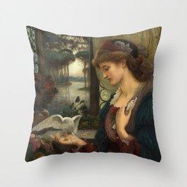 Love's Messenger Throw Pillow