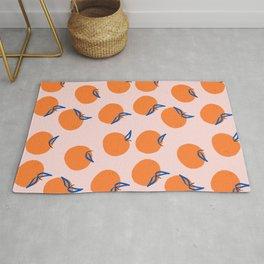 Modern clementines Rug