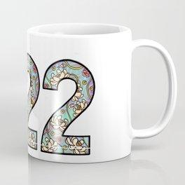 master number 222 Coffee Mug