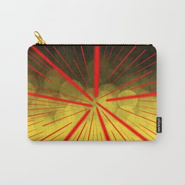 Yellow Complex Abstract Carry-All Pouch