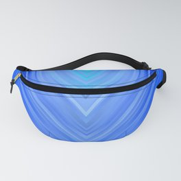 stripes wave pattern 3 c80 Fanny Pack