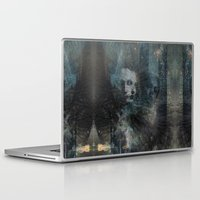 dark souls Laptop & iPad Skins featuring Dark Souls by Lil'h
