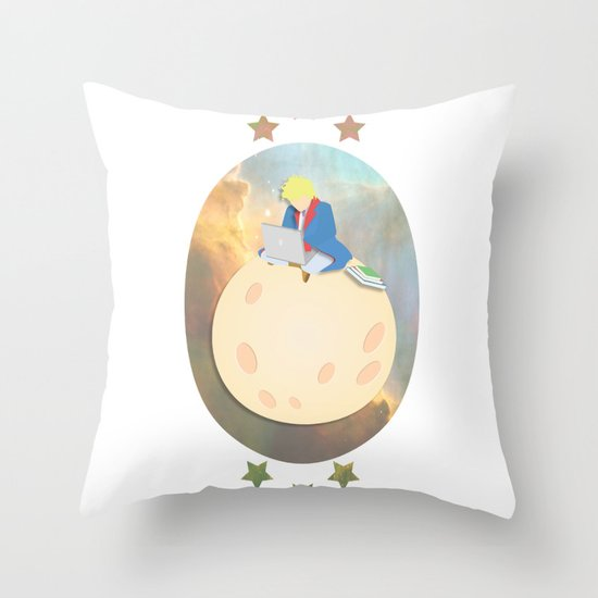Modern Prince Throw Pillow