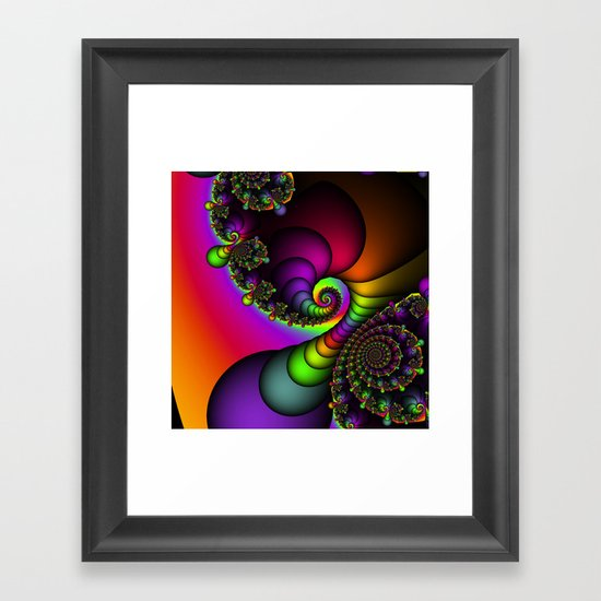 Rainbow Goddess Framed Art Print