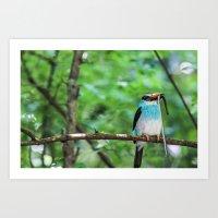 wildlife Art Prints featuring Wildlife by sannngat
