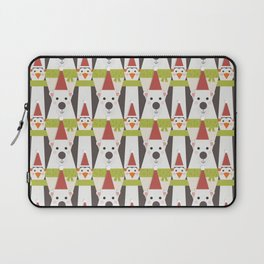 Penguins & Polar Bears (Patterns Please) Laptop Sleeve