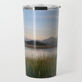 Mountain Sunrise in Snowdonia Travel Mug