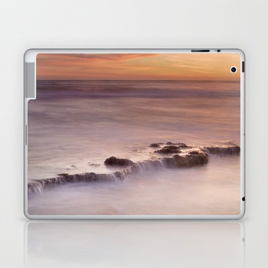 Waterfalls on the rocks Laptop & iPad Skin