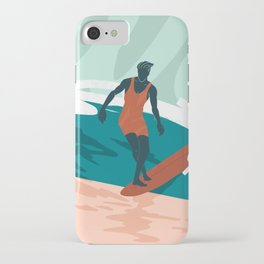 Solo Surf iPhone Case
