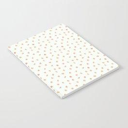 Sweet Peach Polka Dot, Mint Notebook