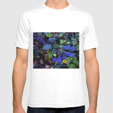 Exotic fruit and rich. MEDIUM Mens Fitted Tee White