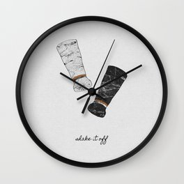 Shake It Off, Food and Drink Wall Clock