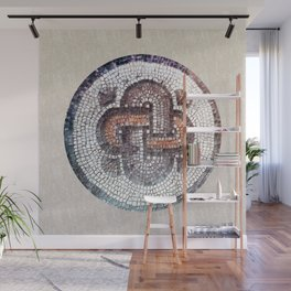Solomon Knot. Antique symbol. Wall Mural