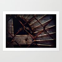 industrial Art Prints featuring Industrial by KunstFabrik_StaticMovement Manu Jobst