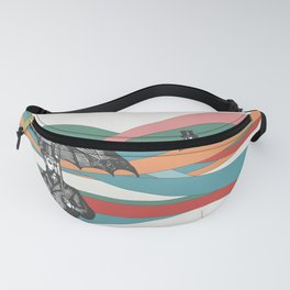 Riding the Waves Fanny Pack