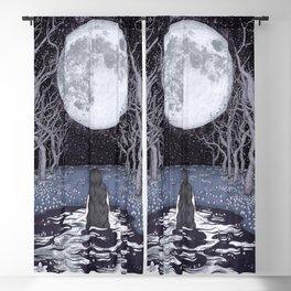 Moonlight Bather Colour Blackout Curtain