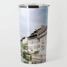 Houses of Strasbourg Travel Mug