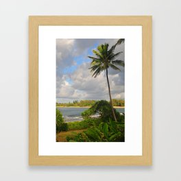 Hawaiian Palm Framed Art Print
