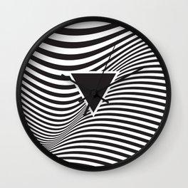 Wave IV Wall Clock